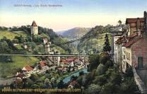 Fribourg, Les Ponts Suspendus