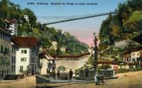Fribourg, Quartier de I'Auge et vieux remparts