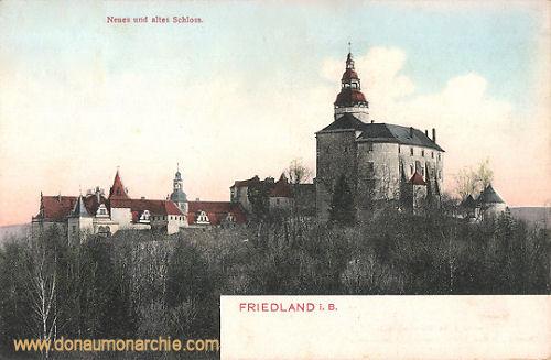 Friedland i. B., Neues und altes Schloss