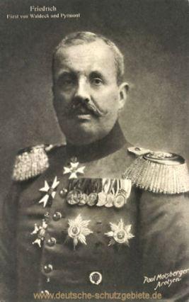 Friedrich Fürst von Waldeck und Pyrmont