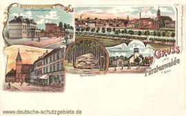 Fürstenwalde, Bergschlösschen, Neue Ulanen-Kaserne
