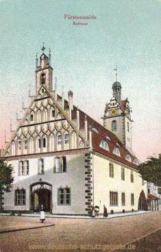 Fürstenwalde, Rathaus
