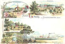 Fürstenwalde, Waldschänke, Bergschlösschen, Forsthaus Miegel