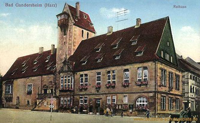 Bad Gandersheim (Harz) - Rathaus