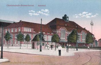 Geestemünde-Bremerhaven, Bahnhof