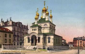 Genève, Chapelle russe