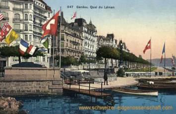 Genève, Quai du Léman