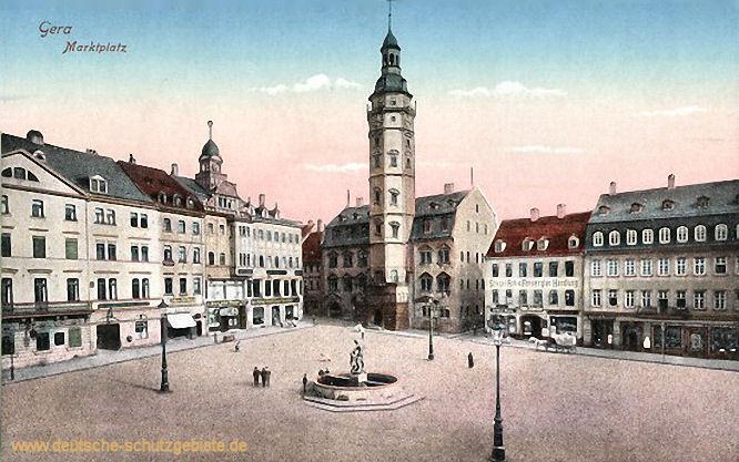 Gera, Marktplatz