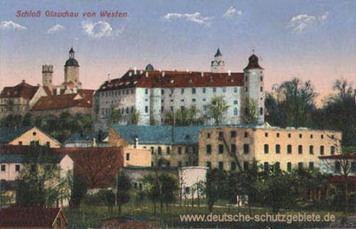 Schloss Glauchau von Westen