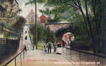 Glauchau, Schulweg