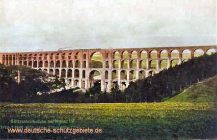 Göltzschtalbrücke bei Mylau i. V. - Erbaut 1846-1851, Länge 574 m, Höhe 78 m