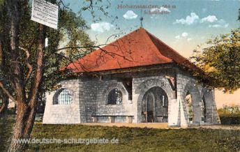Göppingen, Hohenstaufen, Schutzhütte 684 m