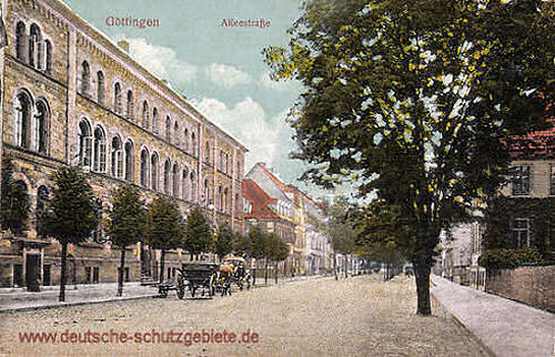 Göttingen, Alleestraße