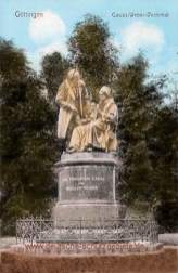 Göttingen, Gauss-Weber-Denkmal