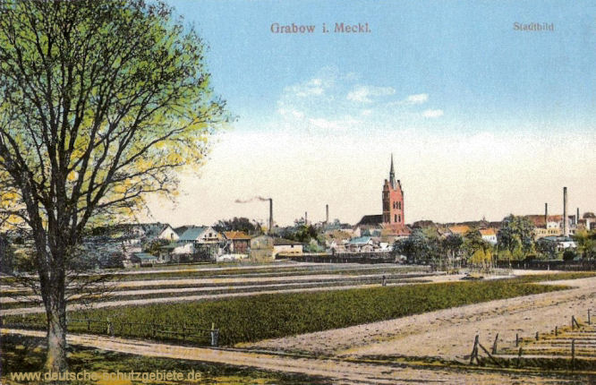 Grabow i. Meckl., Stadtbild