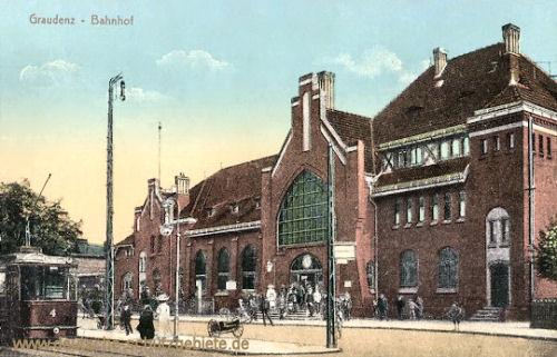 Graudenz, Bahnhof