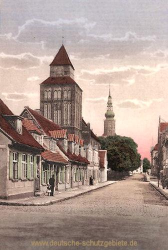 Greifswald, Domstraße