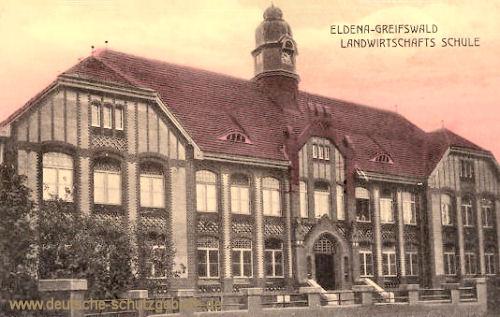 Greifswald, Landwirtschafts-Schule