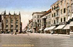 Greifswald, Markt und Langestraße