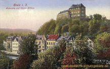 Greiz, Elstersteig und Oberes Schloss