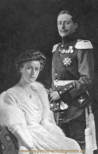 Großherzog Wilhelm Ernst von Sachsen und Großherzogin Carola Feodora Prinzessin von Meiningen