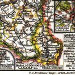 Großherzogtum Luxemburg, Landkarte 1911