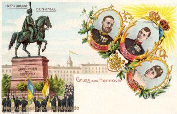 Hannover, Ernst August-Denkmal