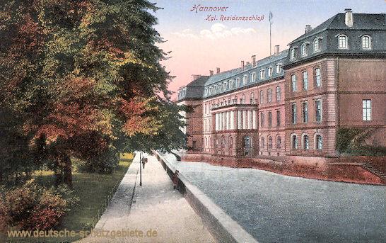 Hannover, Königliches Residenzschloss