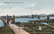 Harburg, Die Elbe mit den zwei Brücken