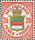20. Pfennig, Helgoland 1888