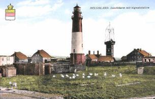 Helgoland, Leuchtturm mit Signalstation