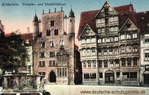 Hildesheim, Templer- und Wedekindhaus