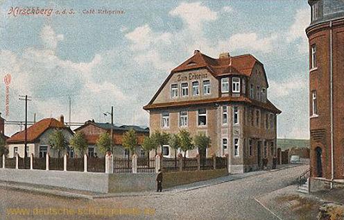 Hirschberg a. S., Café Erbprinz