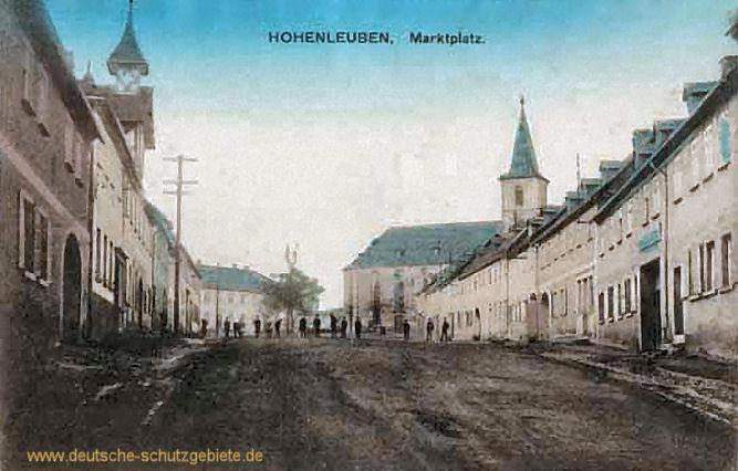 Hohenleuben, Marktplatz