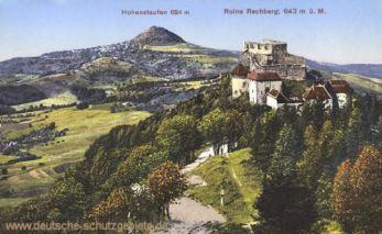 Hohenstaufen und Ruine Rechberg