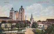 Ingolstadt, Liebfrauenkirche mit Kreuztor