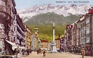 Innsbruck - Tirol. Maria Theresiastraße