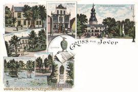 Jever, Haus der Getreuen, Rathaus, Schloss, Kriegerdenkmal, Sophien-Stift, Elisabethenufer