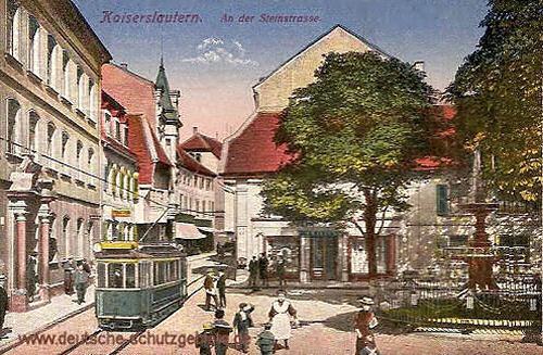 Kaiserslautern, An der Steinstraße