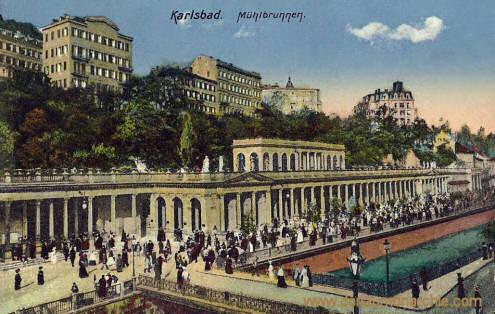 Karlsbad, Mühlbrunnen