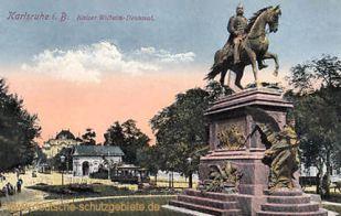 Karlsruhe i. B., Kaiser-Wilhelm-Denkmal