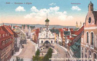 Kempten, Rathausplatz