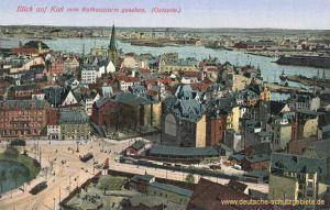 Kiel, vom Rathausturm gesehen (Ostseite)