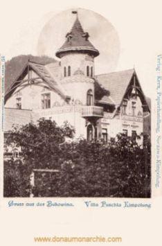Kimpolung, Bukowina, Villa Puschla