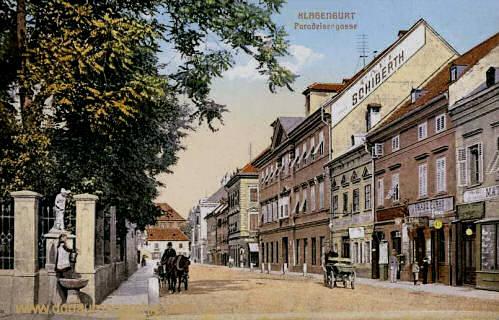 Klagenfurt, Paradeisergasse
