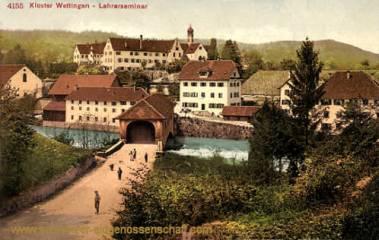 Kloster Wettingen, Lehrerseminar