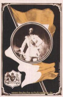 König Georg von Hannover, Fahne und Wappen