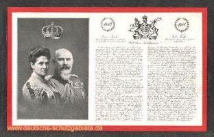 König Wilhelm II. und Königin Charlotte von Württemberg