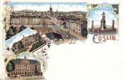 Köslin, Stadtansicht