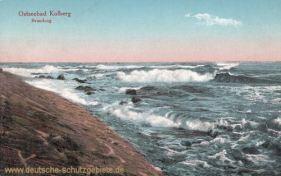 Kolberg, Brandung
